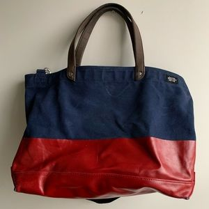 Jack Spade Wax Dipped Tote